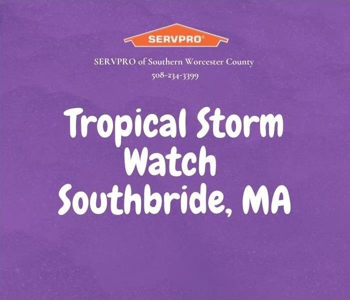 Tropical storm watch, Southbridge, MA